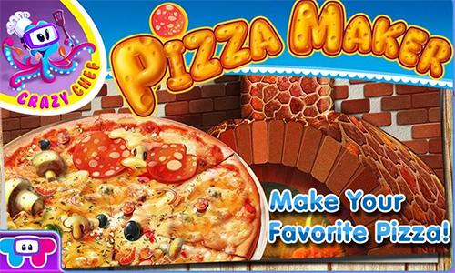 لعبة طبخ بيتزا Crazy Pizza Chef