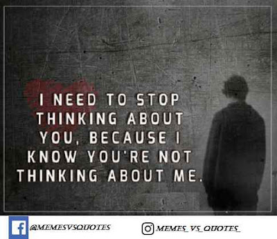 Stop Thinking About You