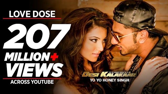 Love Dose Lyrics- Honey Singh,Urvashi Rautela- Desi Kalakaar 2014 Album Song