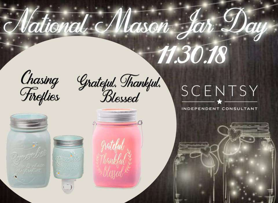 National Mason Jar Day Wishes Photos