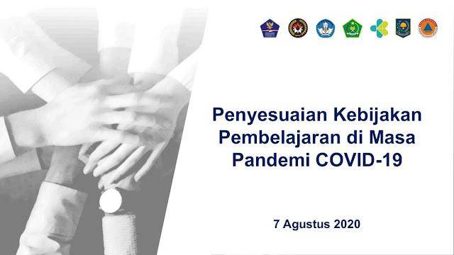 Rangkuman Pengumuman Penyesuaian Kebijakan Pembelajaran di Masa Pandemi Covid-19