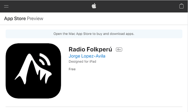 iPhone, iPad, and iPod touch: Ahora escúchanos en tu celular descargando nuestra app Radio Folkperu
