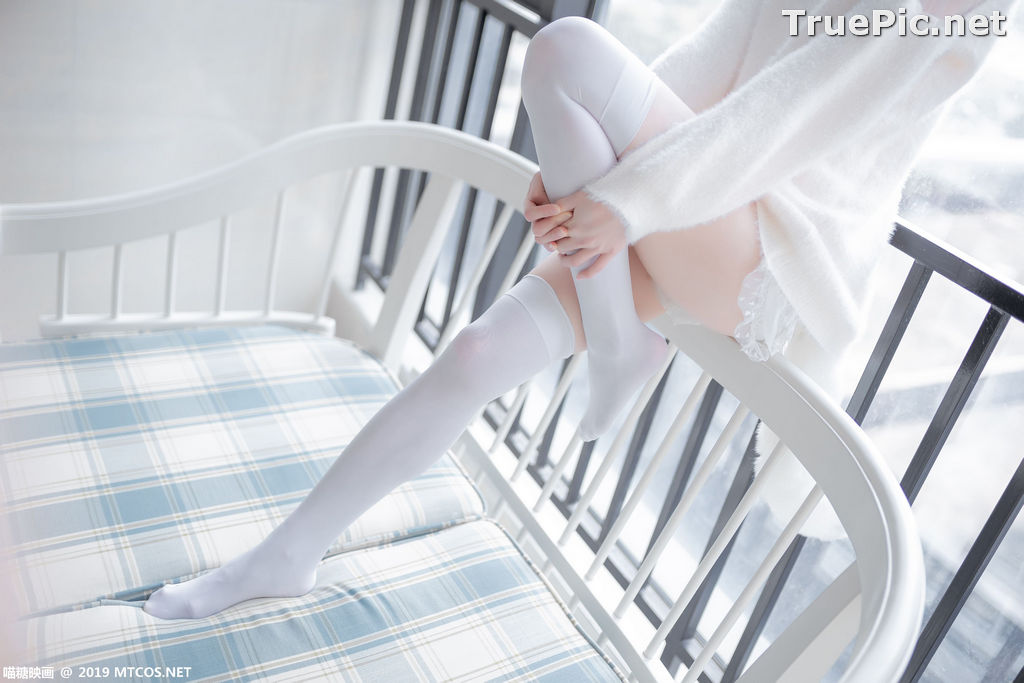 Image [MTCos] 喵糖映画 Vol.027 – Chinese Cute Model – Beautiful White Cat - TruePic.net - Picture-4