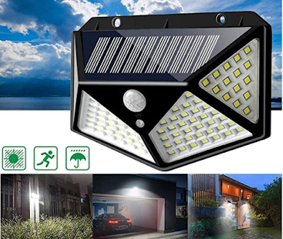 MR STORES Bright Solar Lights for Home and Garden With Motion Sensor