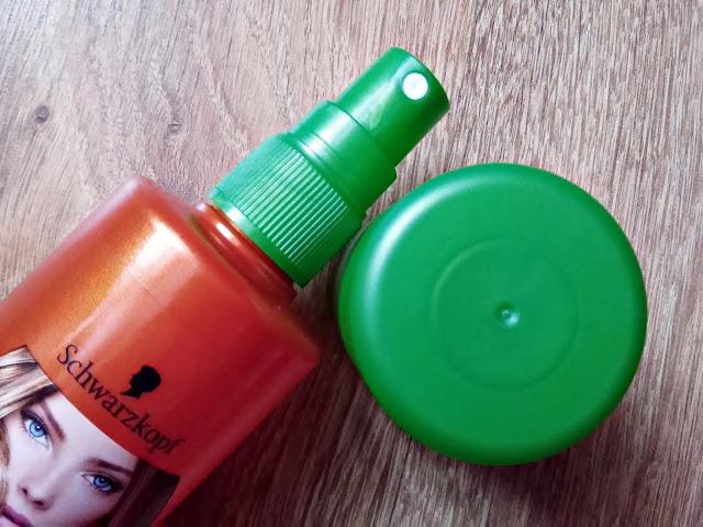 Schwarzkopf, Schauma - Sea Buckthorn Vital - Pielęgnujący spray bez spłukiwania z ekstraktem z rokitnika, do włosów osłabionych i bez energii, otwarcie opakowania