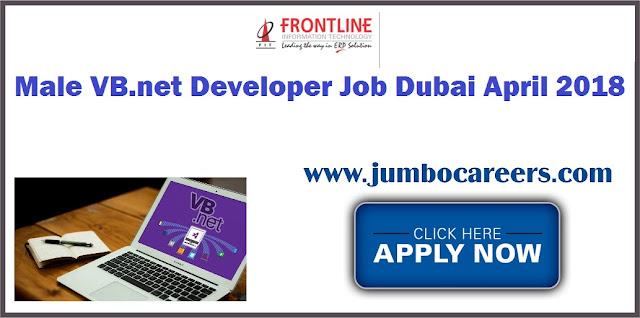 VB.net Developer Job Dubai