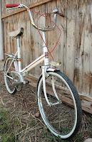 bicyclette pliante ancienne