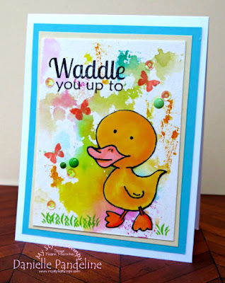 Waddle You Up To | My Style Stamps | Created by Danielle Pandeline