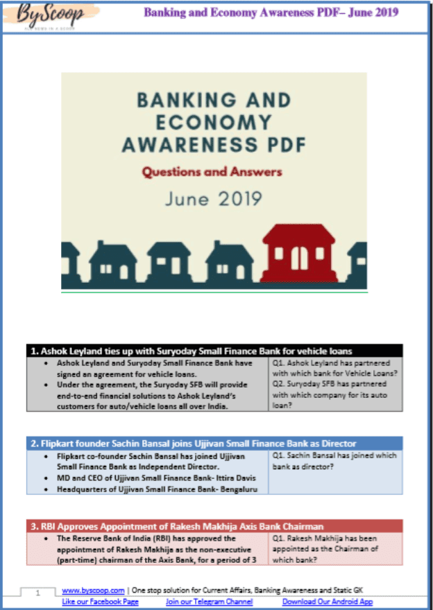 Banking-and-Economy-Awareness-June-2019-PDF-Book