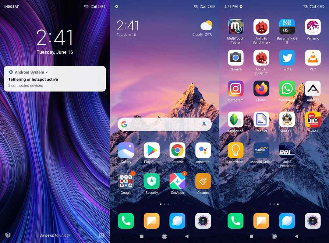 Software & Fitur Xiaomi Redmi Note 9 Pro