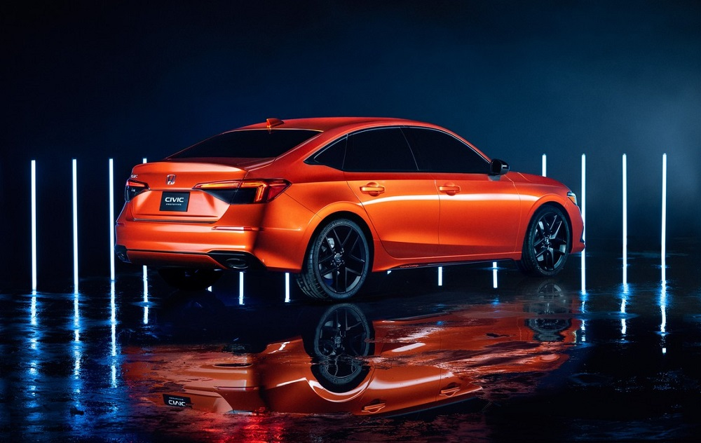 Nguyên mẫu Honda Civic 2022