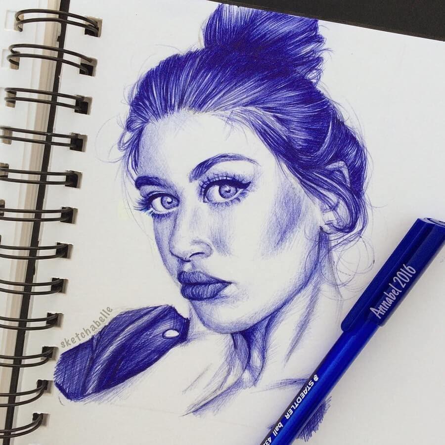 02-Annabel-Portrait-Drawings-www-designstack-co