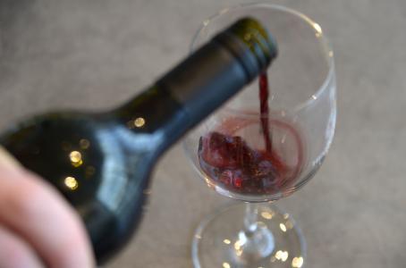 El vino es alimento