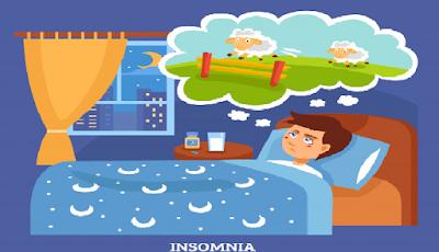 5 Penyebab Insomnia ( Susah Tidur ) Dan Solusi Penanganannya