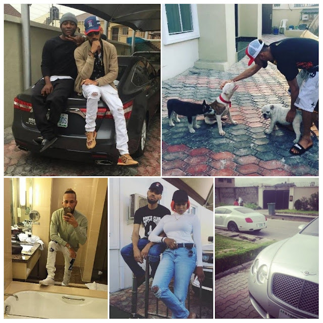 Phyno's house in Lekki and the luxurious cars owned by the rapper