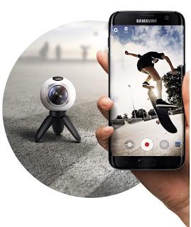 Teknologi, Samsung, Kamera 360 derajat samsung, Spesifikasi Samsung Gear 360, Resolusi kamera 360 derajat samsung, Harga kamera 360 samsung,