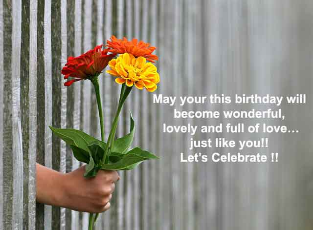 Happy Birthday Wishes, Messages & Quotes, Status For Love