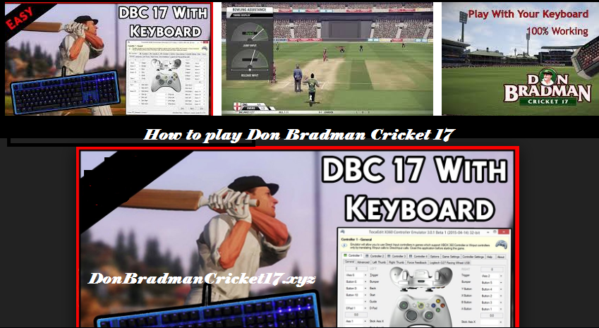 play Don Bradman Cricket 17