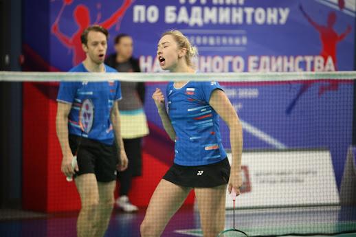 В бассейне «Чайка» прошел крупный Всероссийский турнир по бадминтону