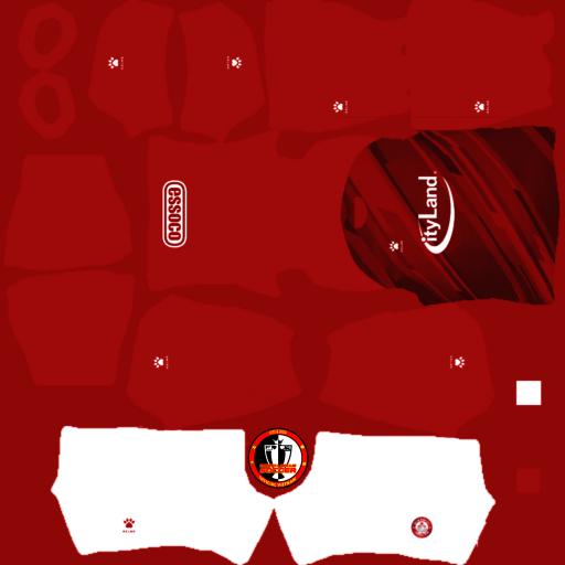 Kits TP Hồ Chí Minh 2021 - Dream League Soccer 2021-2021