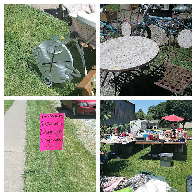 metamora herald garage sales