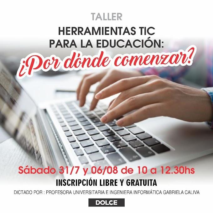Lanzan una capacitación gratis en Tecnologias de la Información y Comunicación para docentes y afines