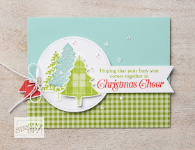 Pint Tree punch Stampin Up