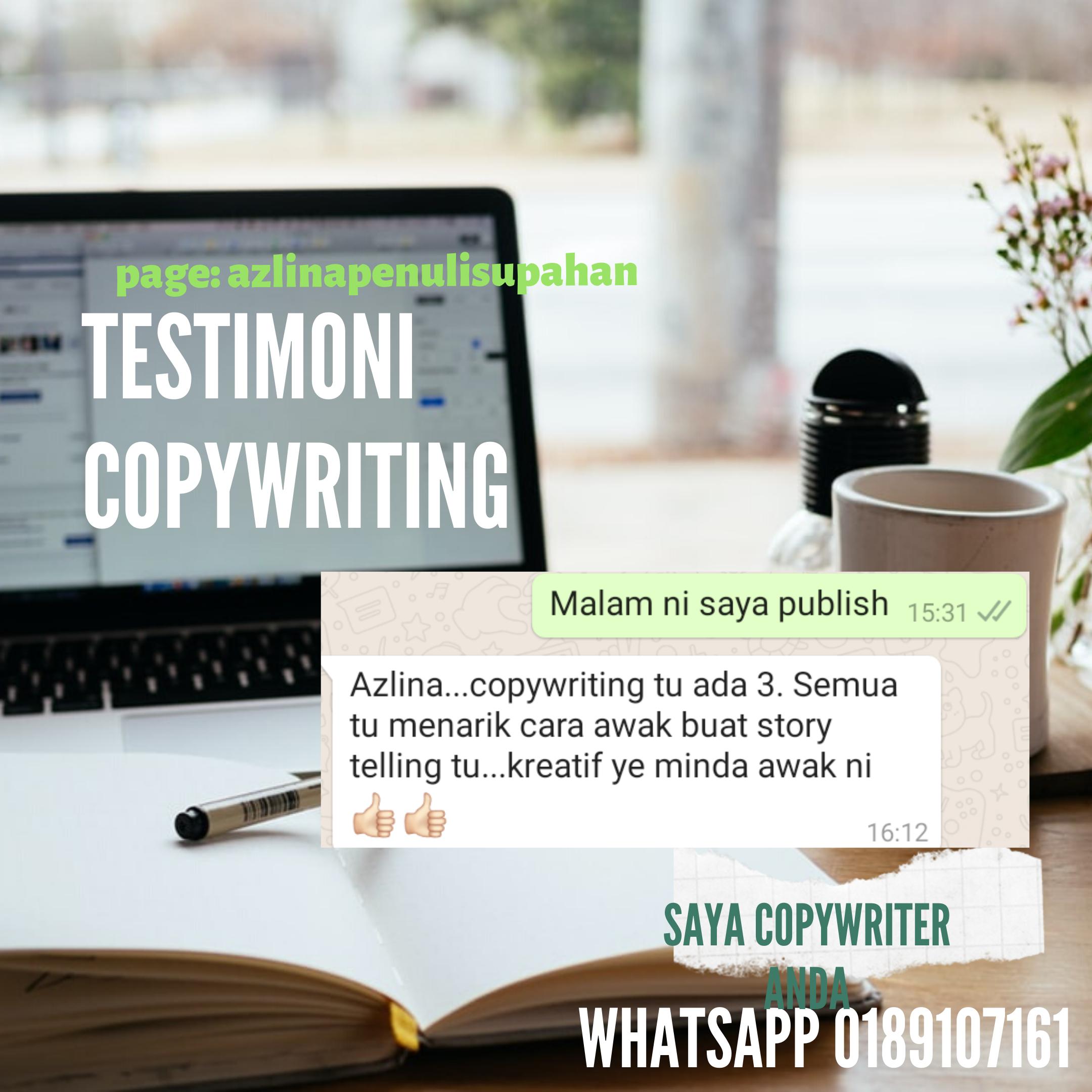 Testimoni Copywriting