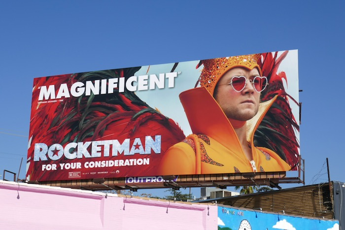 Rocketman Magnificent For your consideration billboard