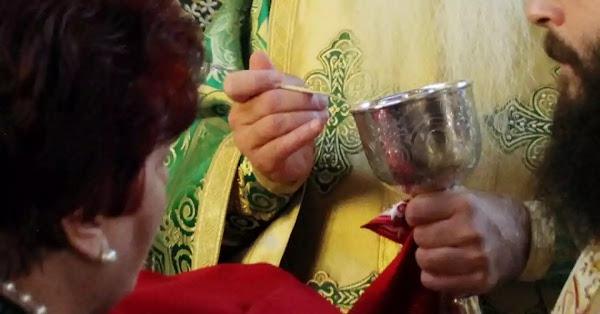 Η Εκκλησία «μίλησε»: Ο κορωνοϊός δεν μεταδίδεται με την Θεία Κοινωνία
