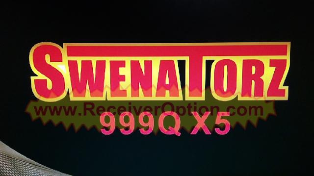 SWENATORZ 999Q X5 HD RECEIVER ORIGINAL SOFTWARE WITH ECAST OPTION