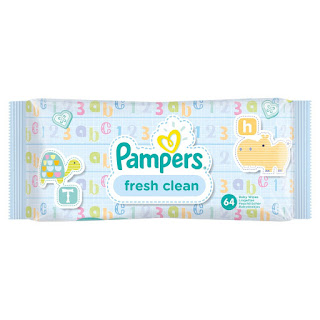 Pampers Fresh Clean Baby Wipes, 12 Pack – 768 Wipes, Top Offer £16.32