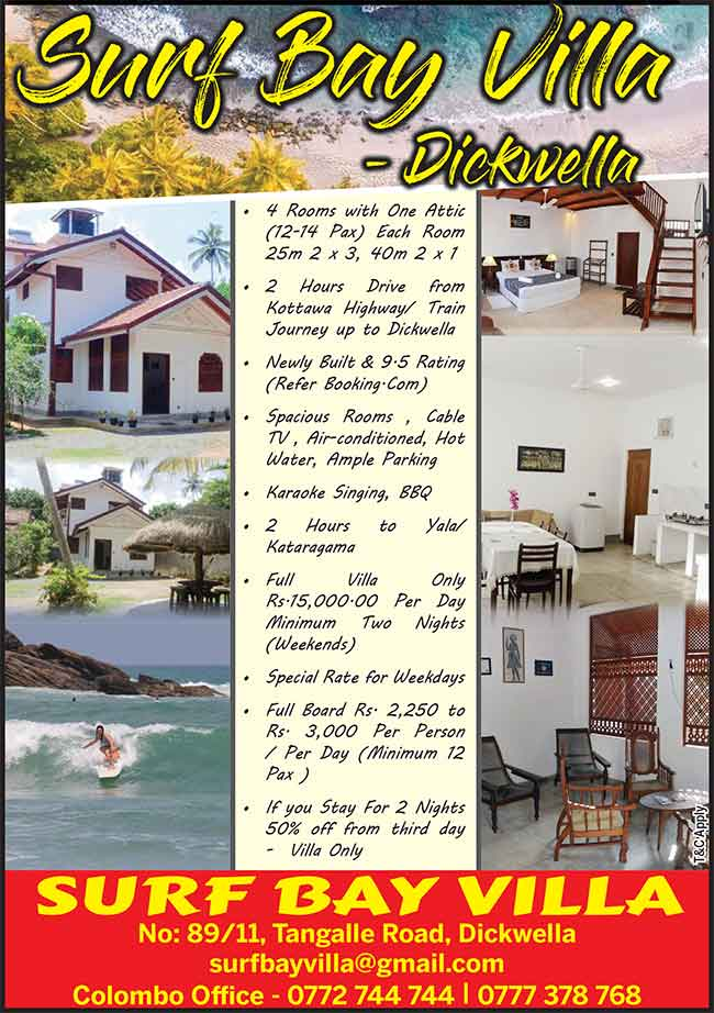 Surf Bay Villa, Dickwella - Enjoy Your Weekend In Down South
