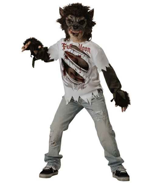 Unique Werewolf Halloween Costumes For Boys