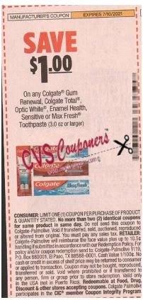 colgate insert coupon