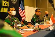 Dankodiklatad meninjau Final Planning Conference TNI AD - US Army dalam rangka penyiapan  gelar Latma Garuda Shield - 15/2021
