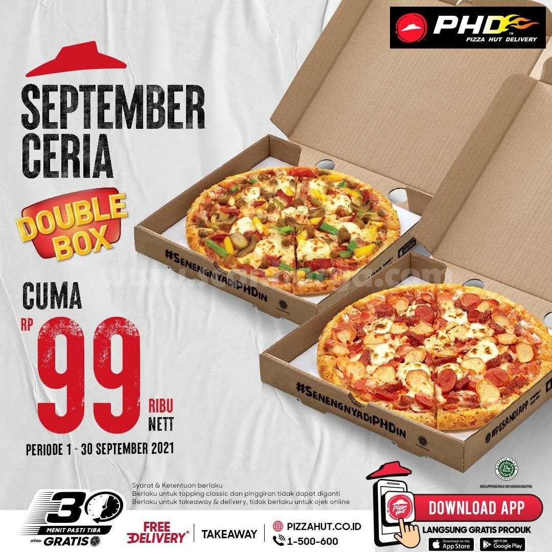 Promo PHD Double Box cuma Rp. 99.000 nett* Periode 1 - 30 September 2021
