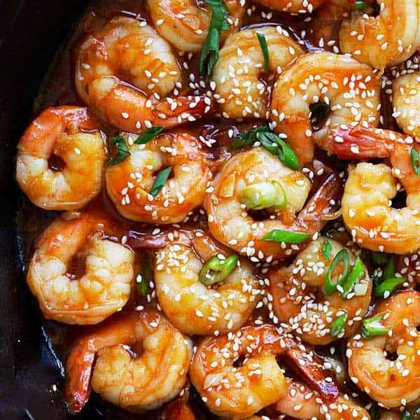 Sweet and Sour Chinese Shrimp - 4