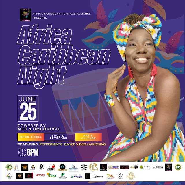 Biggest Event : The Africa Carribean Night Live in Abuja June 25th 2021