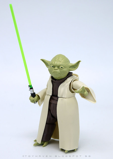 "osw.zone ""Tu or not, there is no attempt."" Bandai Star Wars 1 / 6. Scale Jedi Master Yoda Model Kit Review"