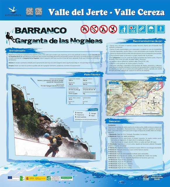 La Garganta de las Nogaledas, Valle del Jerte.
