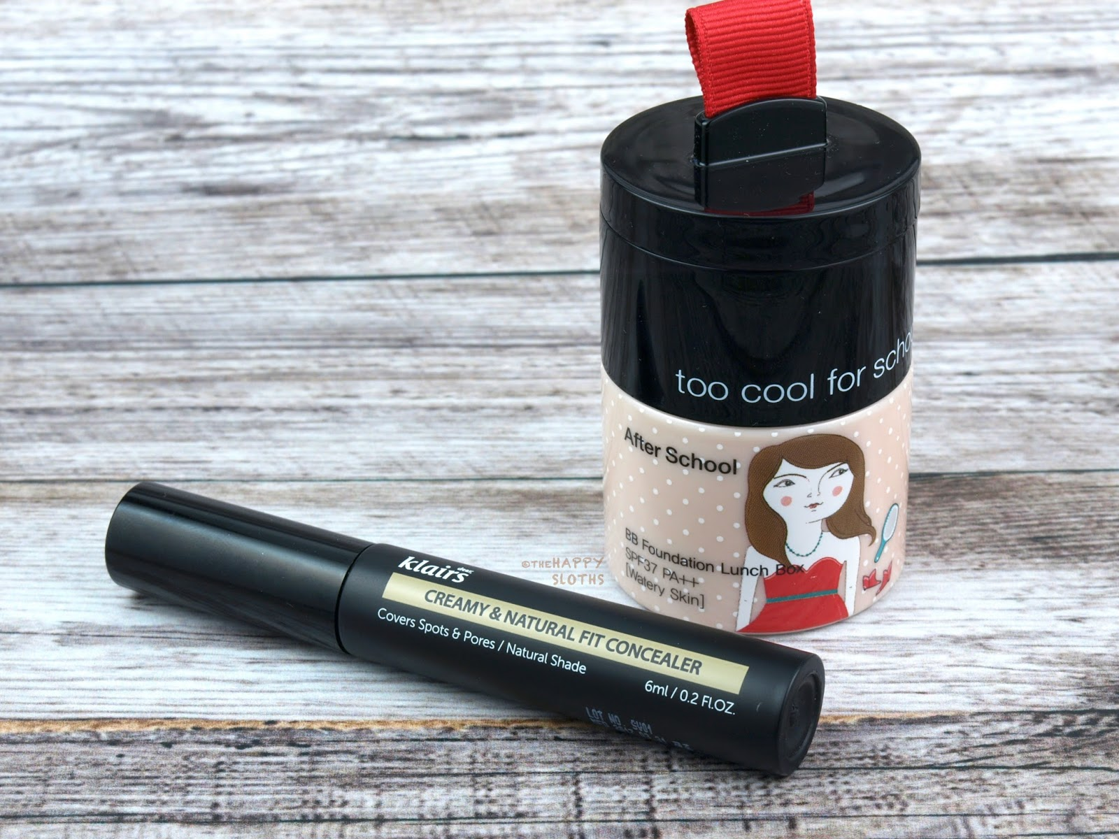 Too Cool for School After School BB Foundation Lunch Box | Dear, Klairs Creamy & Natural Fit Concealer