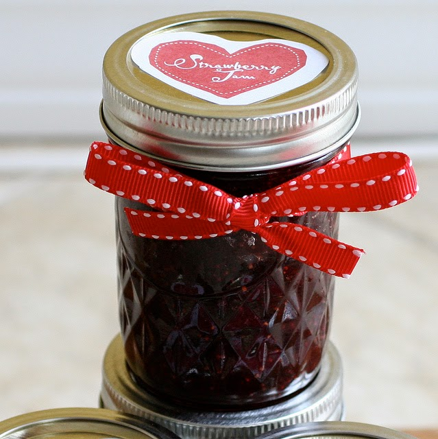 Strawberry Jam | Becky Cooks Lightly #canning