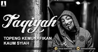 Taqiyah, Rukun Penting dalam Agama Syiah