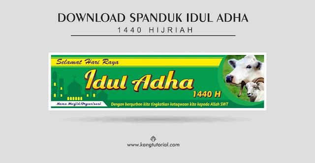 Contoh Spanduk Idul Adha 1440 H 2019 Format CDR