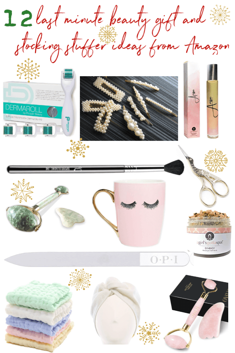 12 Last Minute Beauty Gift and Stocking Stuffer Ideas from Amazon