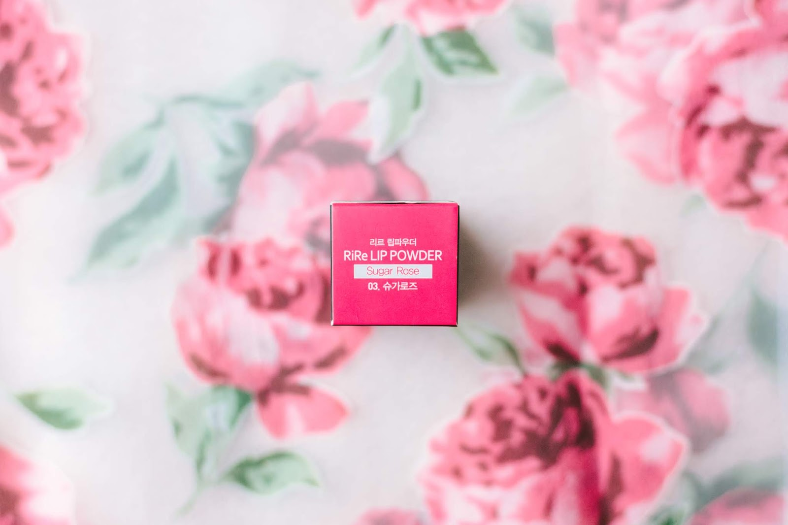 RiRe Lip Powder Tint in 03 Sugar Rose | chainyan.co