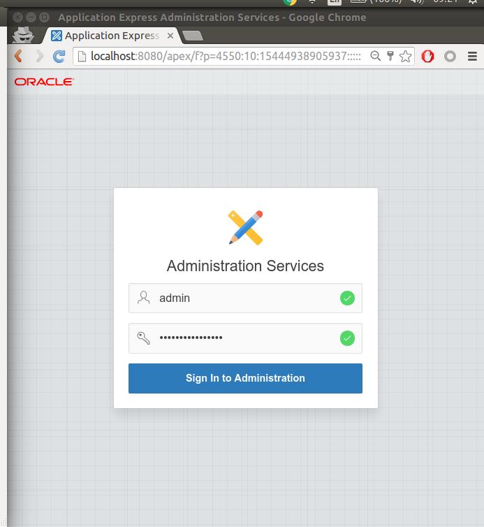 Apex 5 1 on Docker | Marcelo Ochoa's personal blog