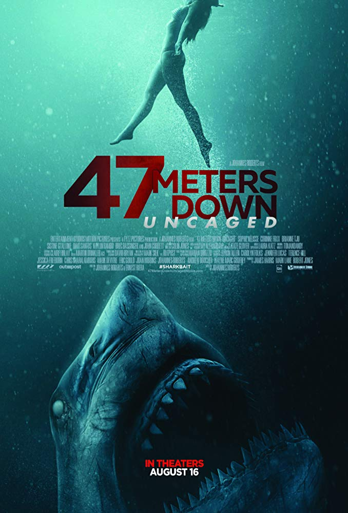 47 METRES DOWN: UNCAGED poster