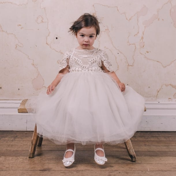 HANDMADE FLOWER GIRL DRESSES MELBOURNE